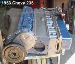 chevy gm 235 6 cylinder engine rebuild. completed job