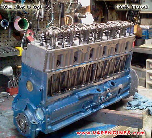 Chevrolet Gm 235 6 Cylinder 1953 Rebuild