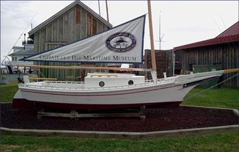 chesapeake bay maritime museum skipjack