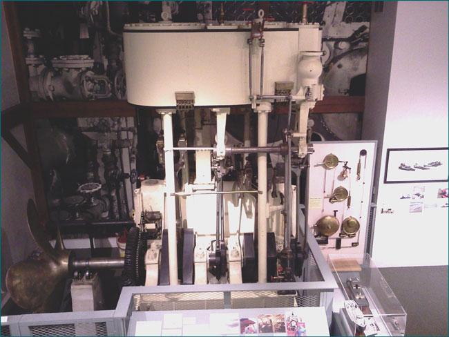 diesel boat engine