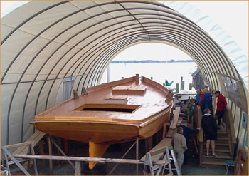 skipjack being restored