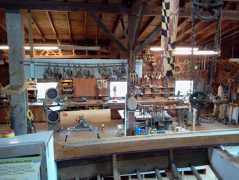 skipjack restoration shop
