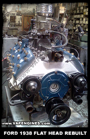 1938 Ford Flathead rebuilt