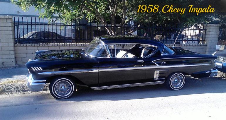 1958 Chevy Impala car