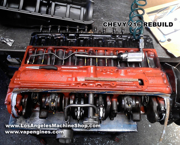 GM Chevy 216 engine rebuilding