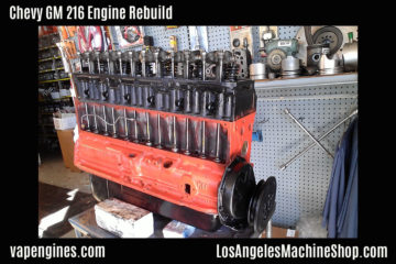 Chevy GM 216 Engine Rebuild