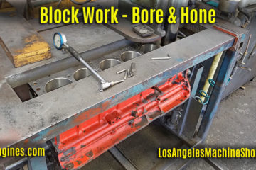 Bore & Hone Engine Blocks