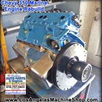 rebuilt chevy 350 marine engine