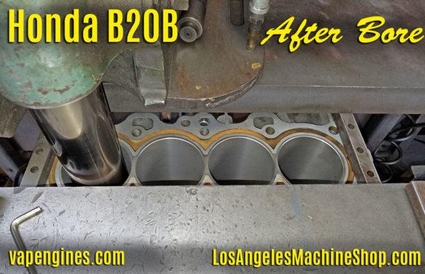 Honda B20B engine block bore.