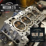 nissan 2.5 valve job