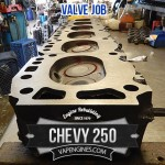 chevy 250 resurfaced cylinder head