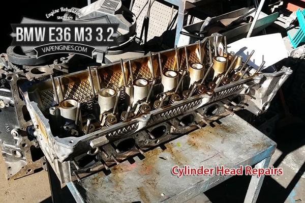 BMW 3.2 cylinder head repairs