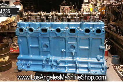 GM 235 Remanufactured Engine