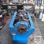 Chevy GM 235 Short block and crank