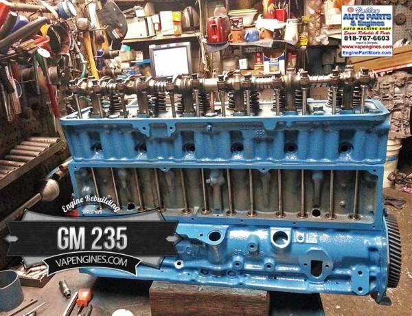 chevy gm 235 remanufactured engine