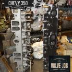 gm chevy 350 5.7 valve job cylinder head repairs