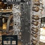 GM Chevy 5.7 350 remanufactured cylinder head