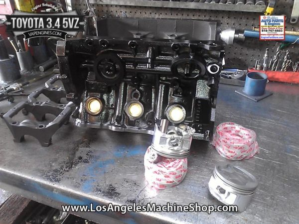 toyota  vz engine rebuild los angeles machine shop engine rebuilderauto parts store