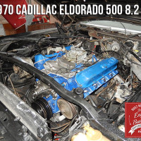 1970 Cadillac Eldorado engine