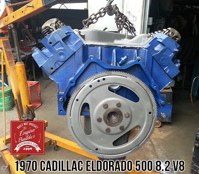 Cadillac Eldorado V Rebuilt Engine on Cadillac 4100 Engine Crate