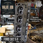 ford 302 cylinder head valve job