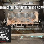 Hone 1970 Cadillac Eldorado engine block