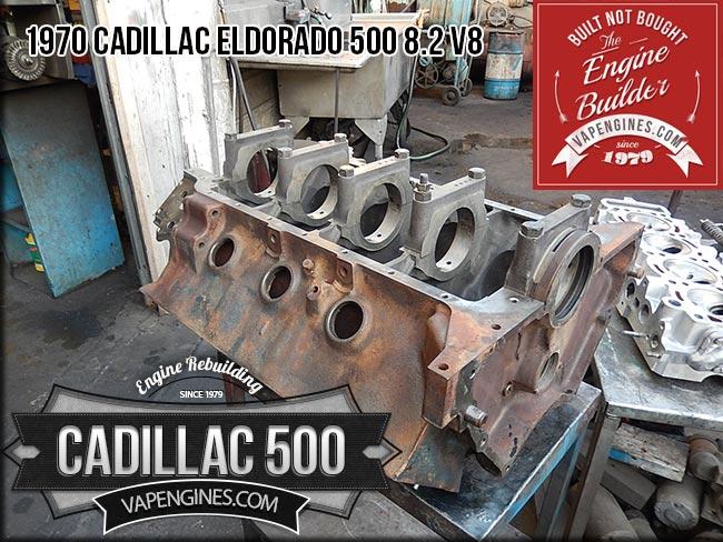 Cadillac V Hot Tank Engine Block on 500 Cadillac V8 Engine