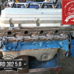 Ford 302 5.0 long block rebuilt