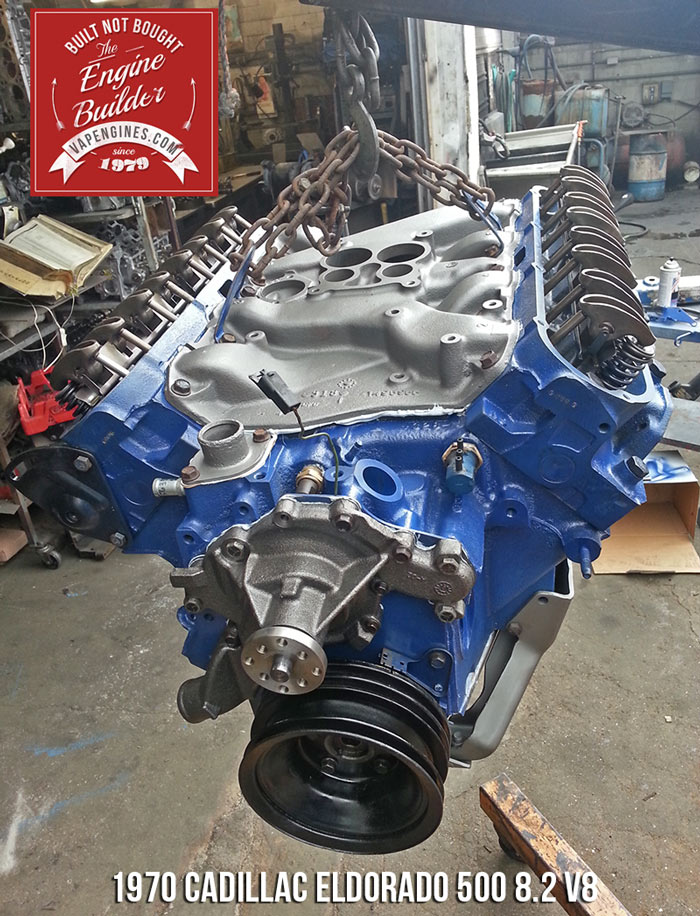 Remanufactured 1970 Cadillac 500 8.2 engine