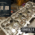 toyota 2.4/2.7 head assemble during valve job