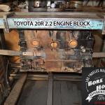toyota 20r bore block