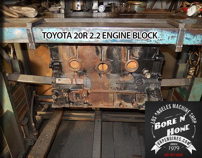 Toyota 20R 2.2 Remanufactured Engine - Los Angeles Machine ...