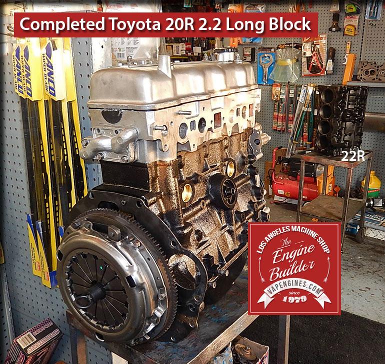 Toyota 20R 2.2 Remanufactured Engine - Los Angeles Machine Shop- Engine Rebuilder|Auto Parts Store