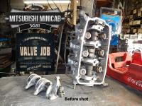 before valve job and teardown