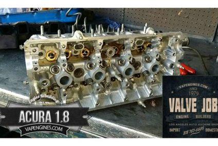 Acura 1.8 Valve Job