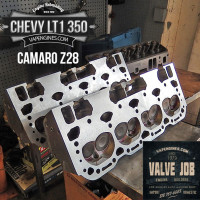 completed valve job-Camaro Z28 LT1 350