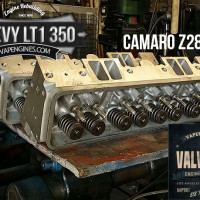 cylinder heads for GM LT1 350 5.7 valve job