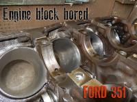 bore n hone Ford 351 cylinders