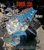 ford 351 engien before rebuild
