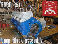 ford 351 long block assembly