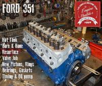 Ford 351 long block engine rebuild
