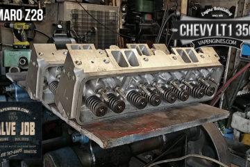 Chevy Camaro Z28 LT1 350 Valve Job