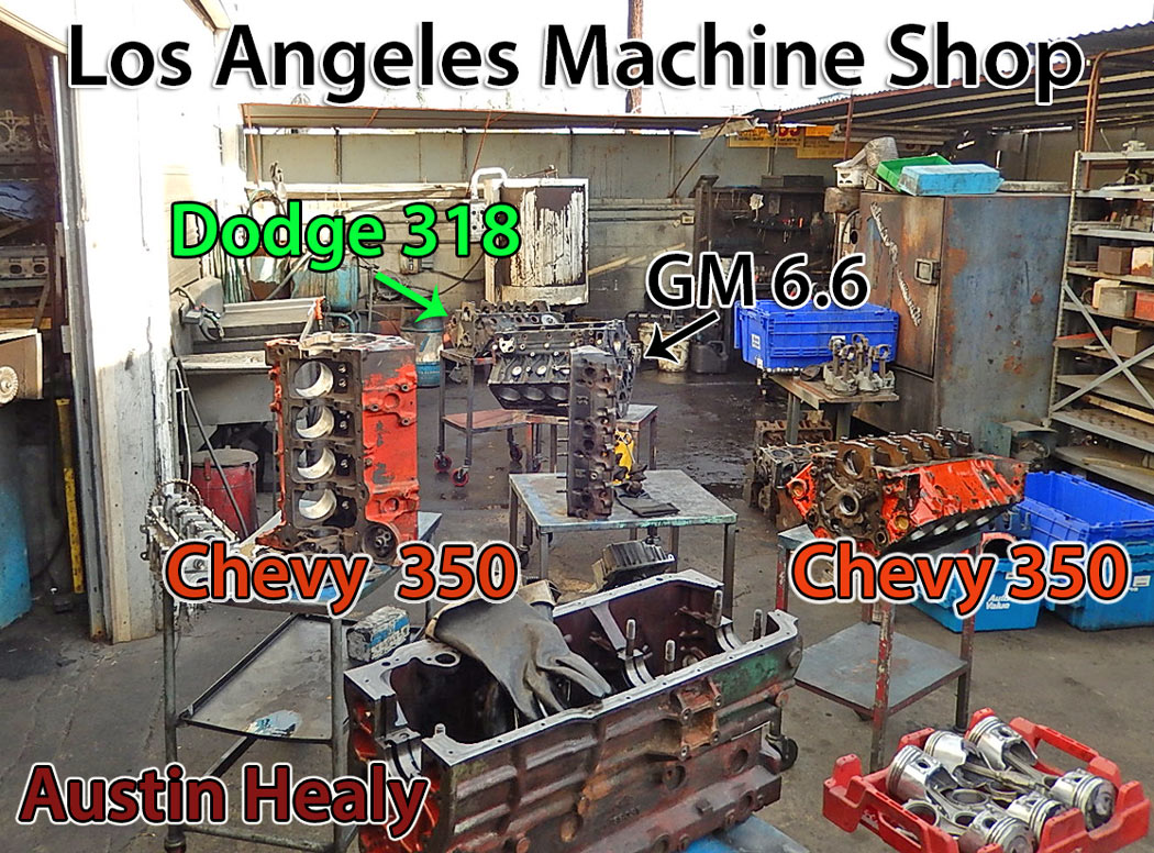 Los Angeles Engine Rebuilding Services