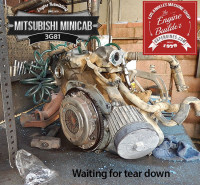 3G81 Minicab engine