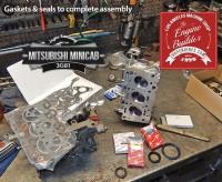 Mitsubishi minicab engine rebuild gasket and seals