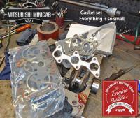 Mitsubishi 3G81 Minicab gasket set