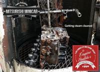 steam clean minicab 3g81 engine block