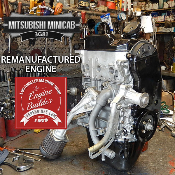 Los Angeles remanufactured 3G81 Mitsubishi Minicab 3G81 engine