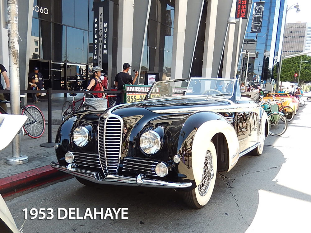 regal front view Delahaye