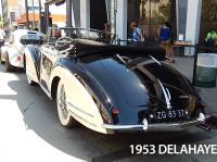 rear view of Delahaye